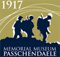 Logo, Memorial Museum Passchendaele 1917 - english